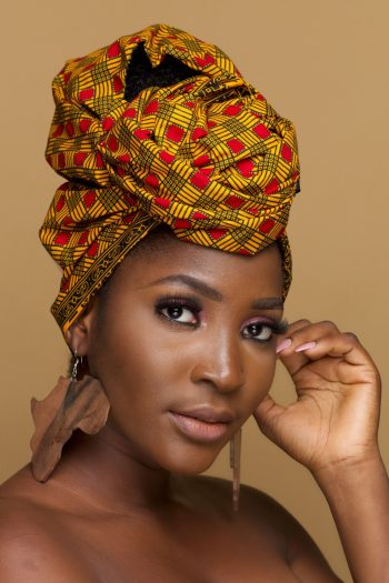 African Print Ankara Head Wrap Ayanda by Naborhi
