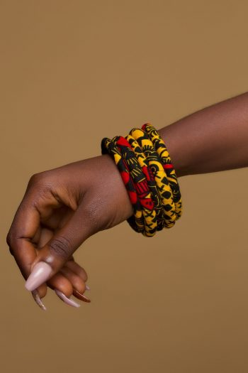 African Print Bangles Adaeze by Naborhi