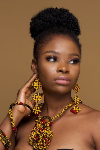 African Print Jewellery Set Adaeze by Naborhi