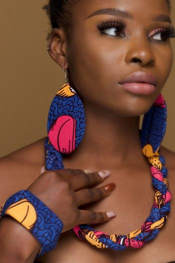 African Print Jewellery Set Adaora by Naborhi