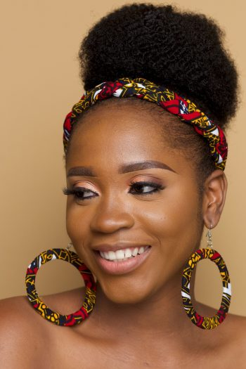 Braided Ankara Head Band Dayo by Naborhi