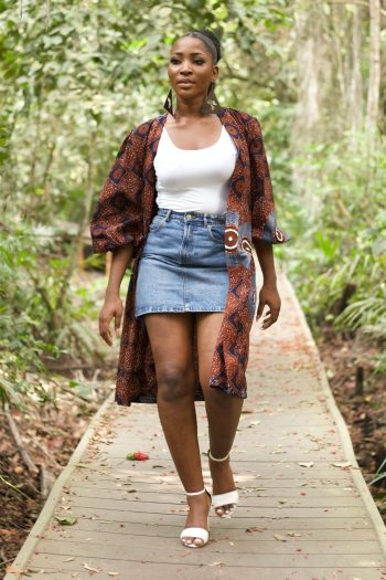 African Print Ankara Kimono - Abiona by Naborhi - African Clothing for Women
