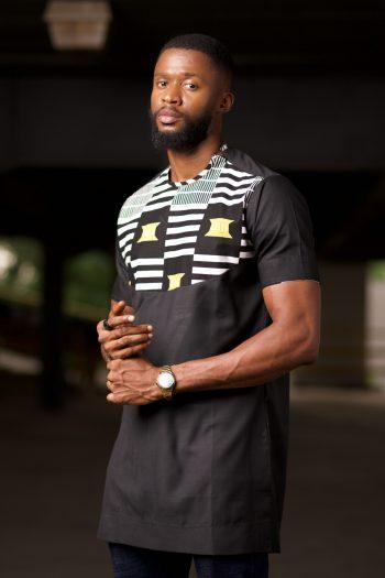 African Print Ankara Shirt for Men - Kasimma by Naborhi