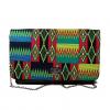 AZIZI Kente Print Clutch Handbag by Naborhi