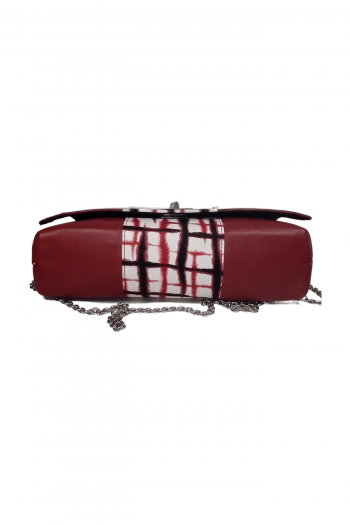 DEZE African Print Leather Handbag by Naborhi