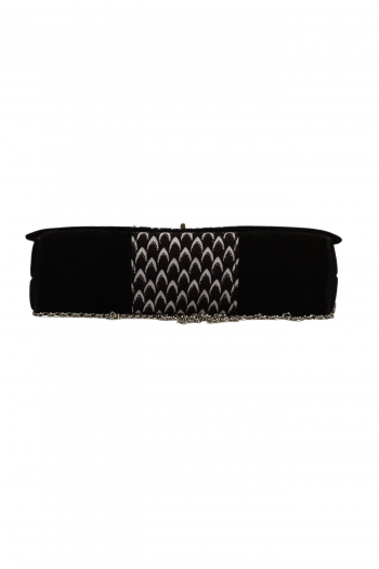 IFEDE African Suede Chain Handbag by Naborhi