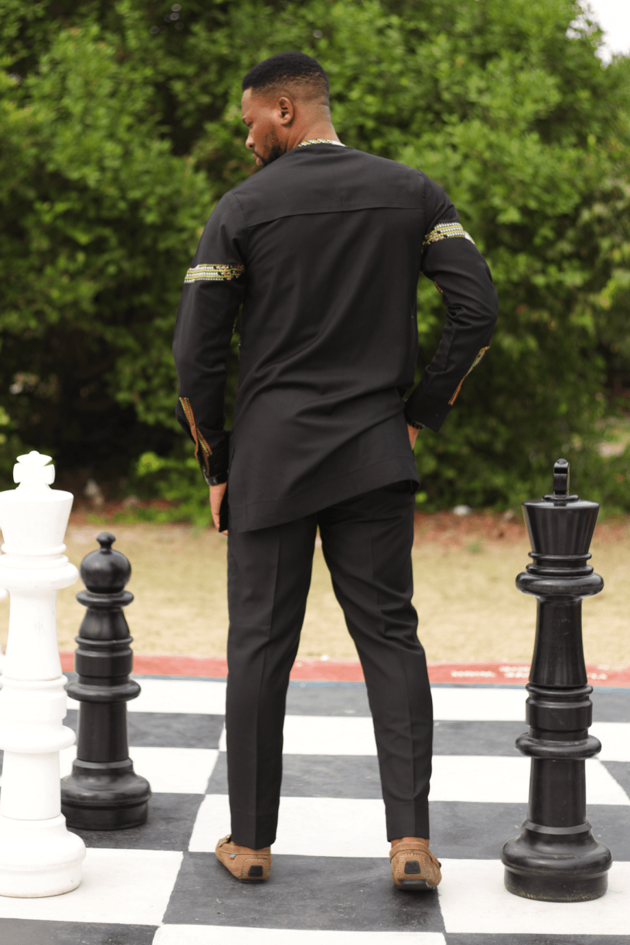 REHEMA African Mens Suit by Naborhi