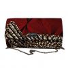 Red African Print Ankara Handbag by Naborhi - ANI