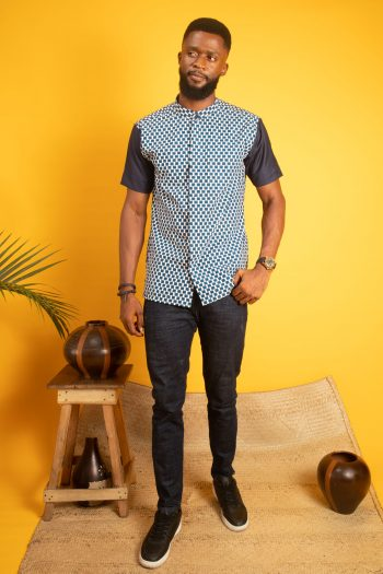 ADISA African Print Mens Shirt by Naborhi