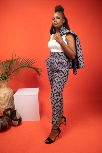 ASOKA African Print Ankara Trousers by Naborhi