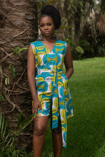 African Print Ankara Playsuit HUSNIYA by Naborhi Ankara Styles for Women