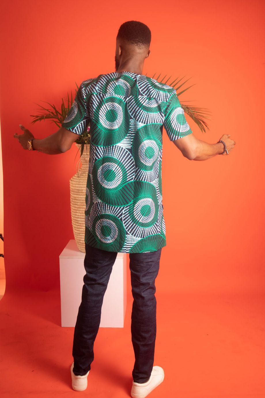African Print Shirt for Men AADAN