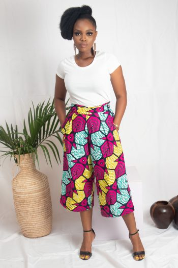 ONIKA African Print Ankara Culottes by Naborhi