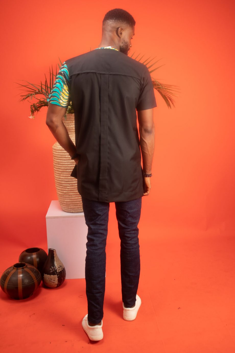 TEMI African Mens Shirt by Naborhi