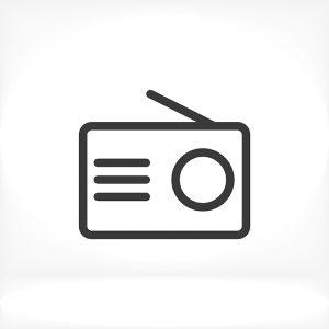 Radio Icon, radio icon flat, radio icon picture, radio
