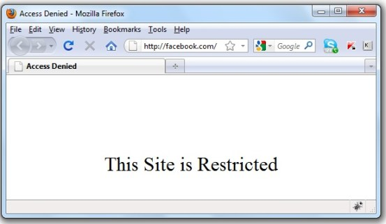 facebook blocked in Pakistan