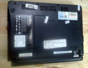 Lenovo Laptop s9 backside