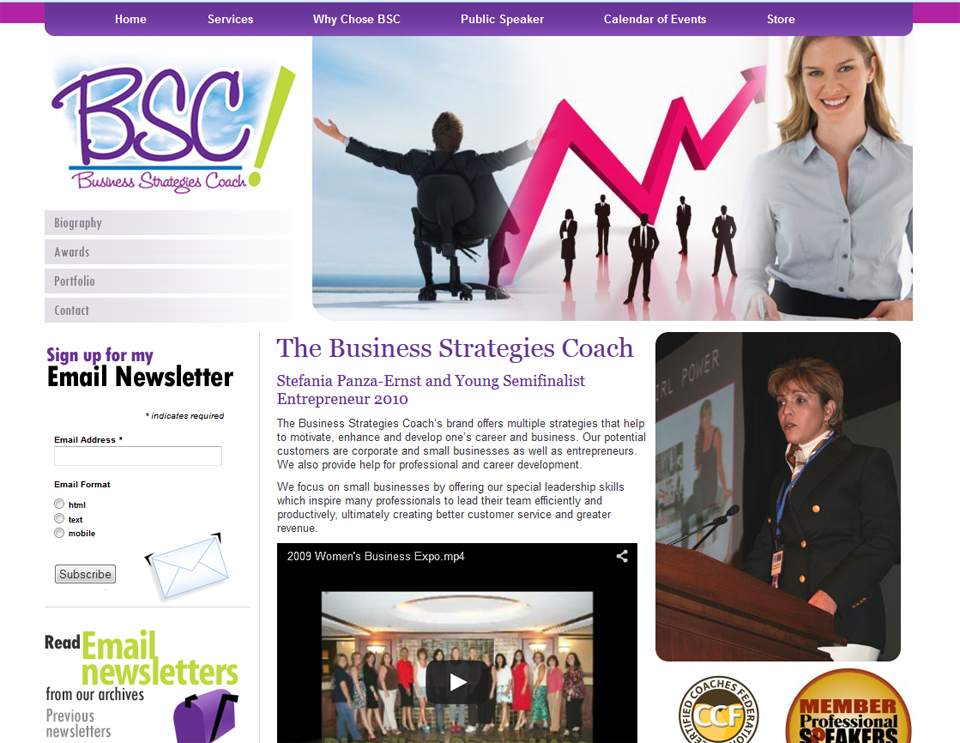 The Business Strategies Coach