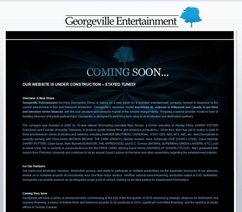 Georgeville Entertainment