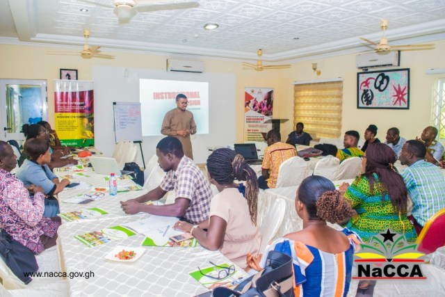 NaCCA holds Workshops on Instructional Resources Development and Test Item Writing for the new curriculum