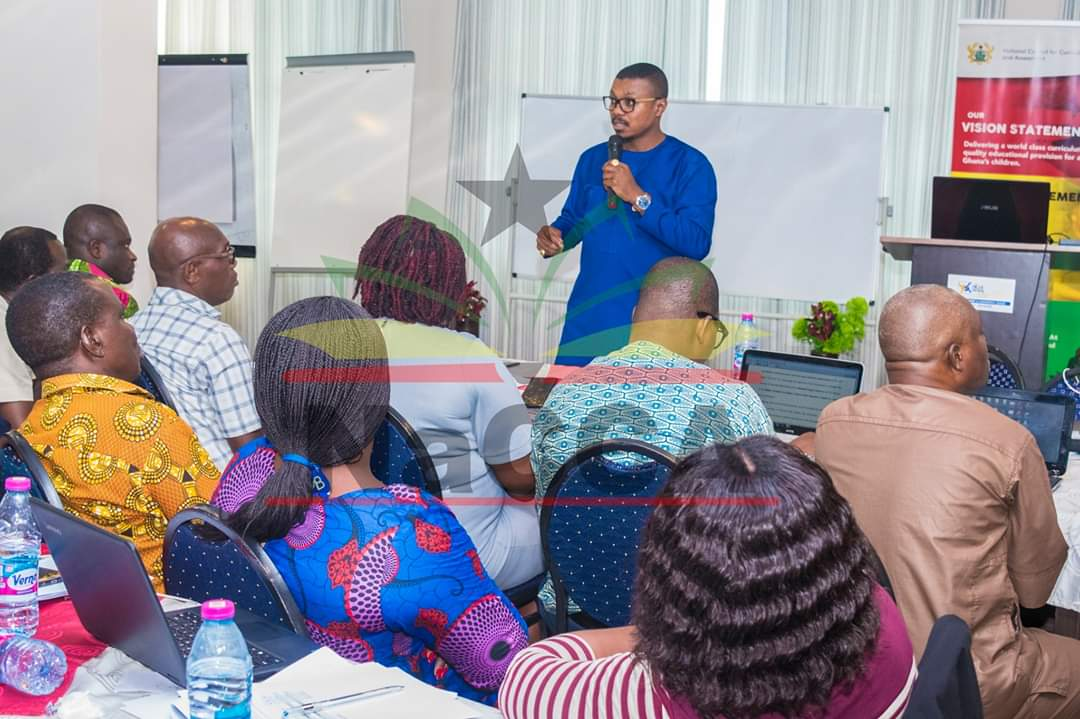 NaCCA has started reviewing the JHS1 to SHS1 curriculum (Common Core Programme). On Wednesday, November 13, 2019, the Executive Secretary of NaCCA, Dr Prince Hamid Armah opened the curriculum review and writing workshop at the Blue Royal Hotel at Larteh.