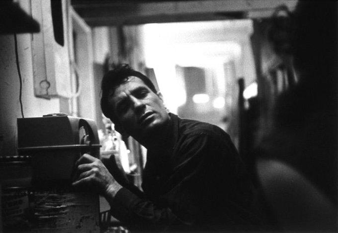 Portrait of Jack Kerouac by John Cohen