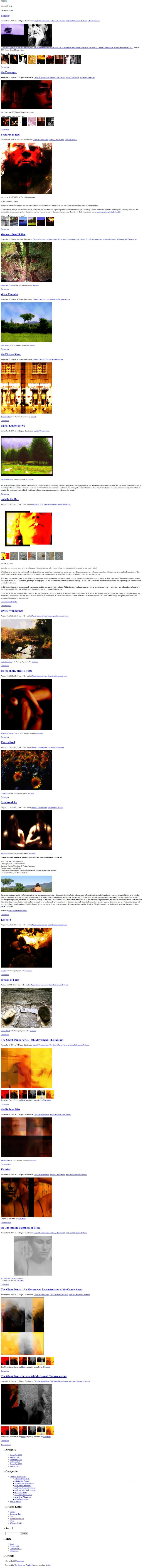 Naccarato.org Website, Wayback Machine, Internet Archive, February, 2007