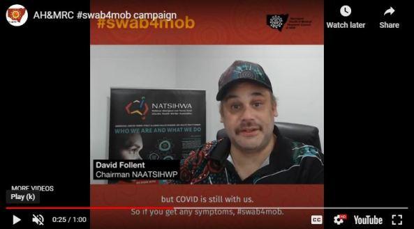 image from swab4mob video David Follent Chairman NAATSHIHWP