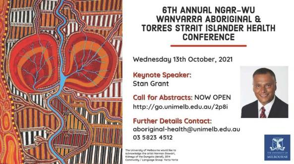 Abstract submissions for Ngar-wu Wanyarra Annual Aboriginal and Torres Strait Islander Health Conference are now open.