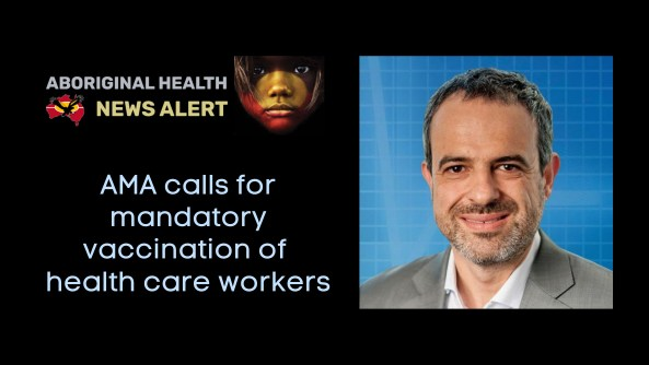 Feature tile - Tue 31.8.21 - AMA calls for mandatory vaccination of health care workers
