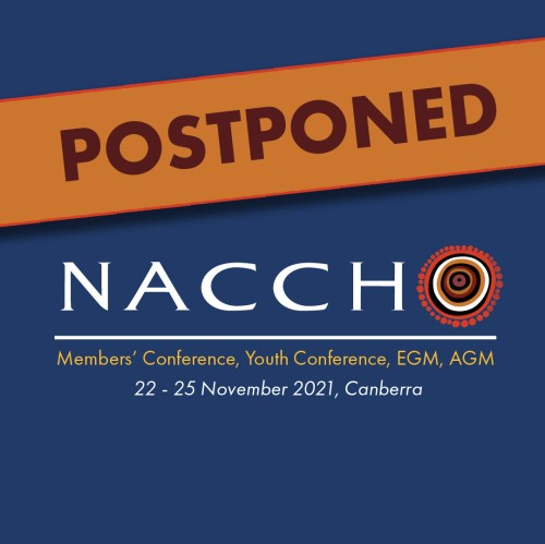 NACCHO Conference 2021 - Postponed.