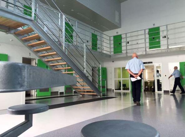 image of inside of Alexander Maconochie Centre