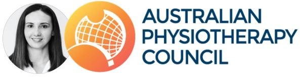 Danielle Manton & Australian Physiotherapy Council logo