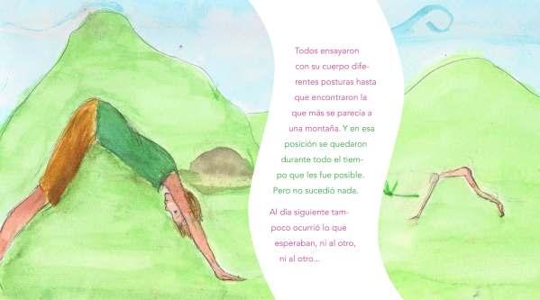 Ilustración de Júlia Martínez cuento de yoga para niños