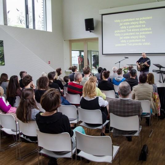 Instalace - Josef Horský - kazatel - foto - Na Cestě   Společenství Církve bratrské Brno