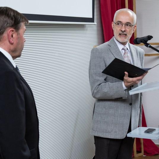Instalace - Josef Horský - kazatel - foto - Na Cestě | Společenství Církve bratrské Brno
