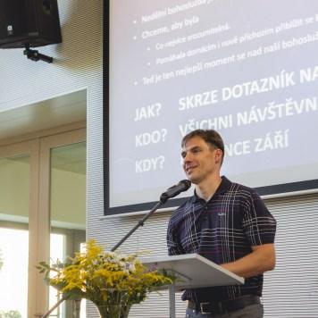 První bohoslužba po prázdninách - Na Cestě   Společenství CB Brno