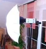 Blitzkopf mit Durchlichtschirm