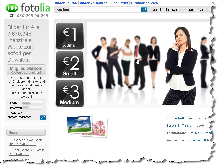UPDATE Fotolia plant Subscriptionservice  nachbelichtet