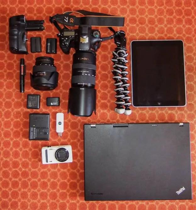 Meine Fotoausrüstung im Urlaub