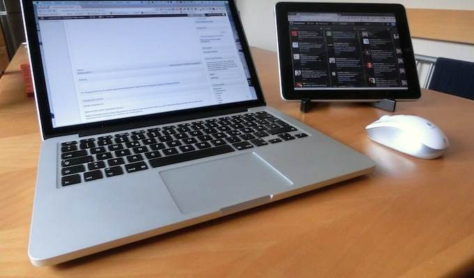 MacBook und Air Display auf dem iPad