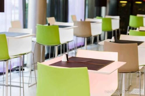 Der Bar- und Restaurantbereich