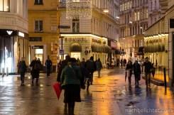 Rund um den Stephansdom am Abend