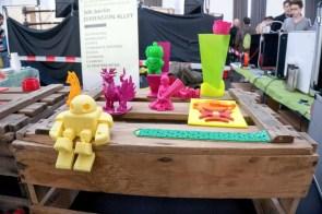 3D Druck war ein großes Thema auf der Maker Faire