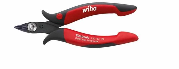 Elektronikseitenschneider von Wiha