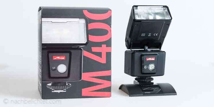 Metz-M400-Blitzgeraet