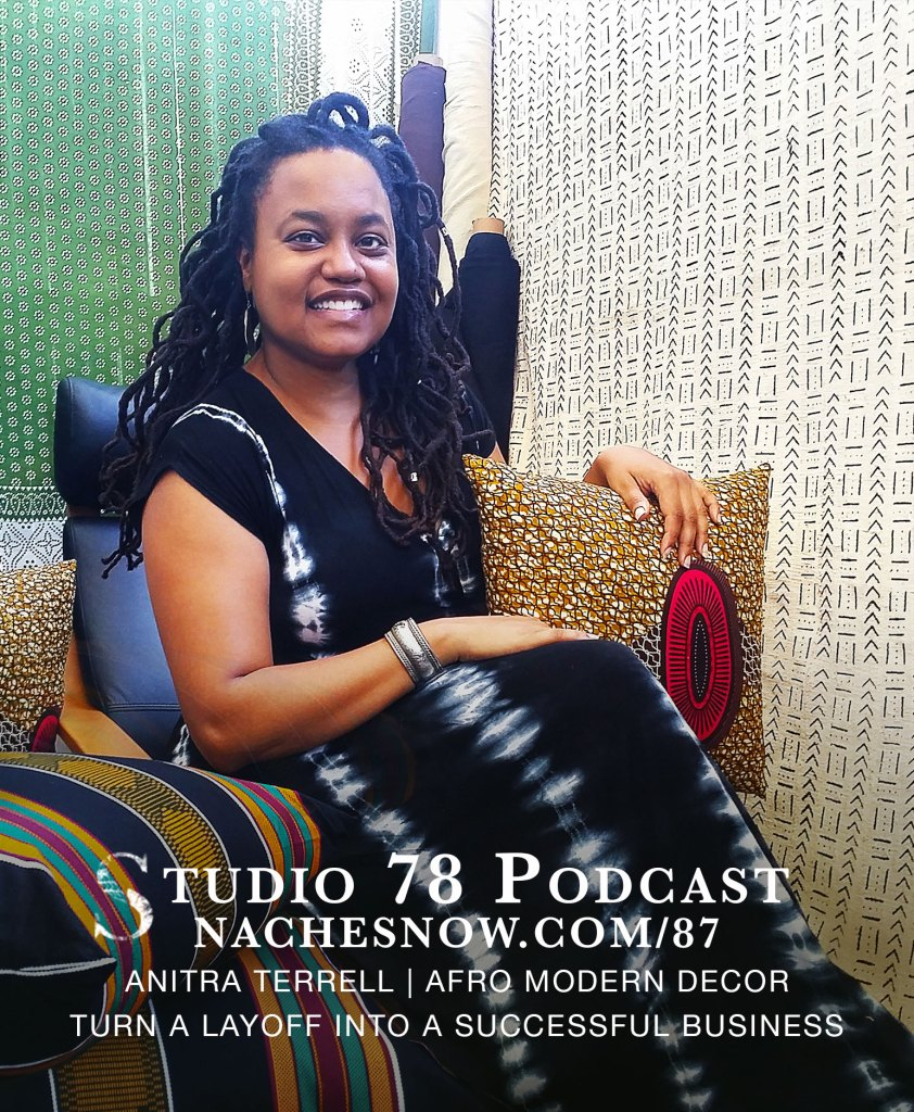 Picture of Anitra Terrell from the African home decor business Reflektion Design