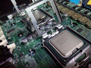 Colocando los procesadores