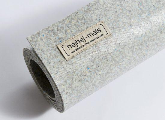 Yogamatten aus recycelten Materialien nachhaltigersport