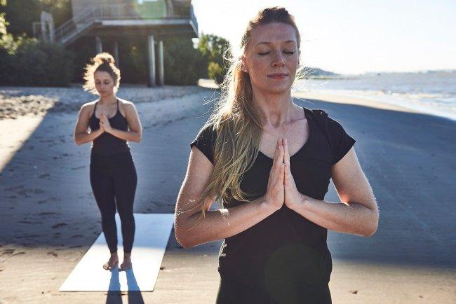 Yogamatten aus recycelten Materialien nachhaltiger sport